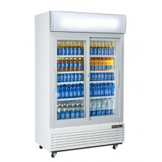 Blizzard GD1000SL: Sliding glass door fridge