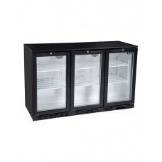 Blizzard LOWBAR3: Low Height Back Bar Beer Fridge - 3 Hinged Doors