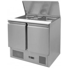 Ice-A-Cool ICE3800: 300 Litre Saladette Preparation Counter with Refrigerated Understorage