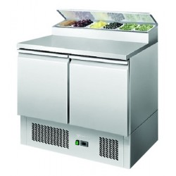 Ice-A-Cool ICE3832: Two Door Refrigerated Sandwich / Pizza Preparation Counter 300 Ltr.