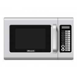 Blizzard BCM1000: 1000W Programmable Commercial Microwave Oven - Light Duty