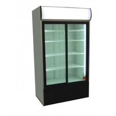 Artikcold Visicooler VIZ90SCD: 700Ltr Double Glass Door Display Cooler