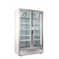 Husky F10PRO Double Door Display Freezer