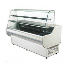 ES System K Astrella AST100SL: 1m Slimline Static Serve Over Counter with 2 Tiers