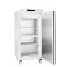 Gram COMPACT F 310 LG C 4W: Slim Upright Freezer - White