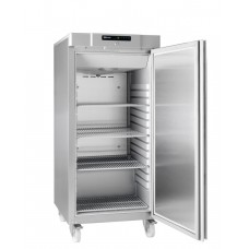 Gram COMPACT F 310 RG C 4N: Slim Upright Freezer - Stainless Steel