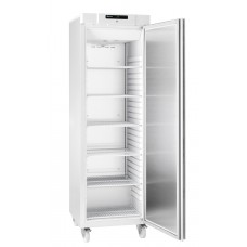 Gram COMPACT F 410 LG C 6W: Slim Upright Freezer  - White