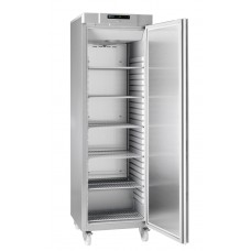 Gram COMPACT F 410 RG C 6N: Slim Upright Freezer - Stainless Steel