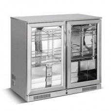 Kool NRLST2-SC228F Stainless Steel Double Hinged Door Bottle Cooler