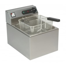 Parry 1860: Single Countertop Electric Fish Fryer