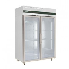 Inomak CF2140CR: LOW-ENERGY Double Glass Door Gastronorm Freezer with LED Lighting & 3 YEAR WARRANTY - 1450ltr.