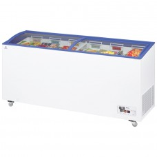 Arcaboa ACL550: 1.8m Sliding Curved Glass Lid Commercial Chest Freezer - 527ltr