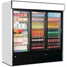 Iarp EIS214: 2040ltr Treble Glass Door Fridge