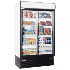 Staycold SD1140: Sliding Glass Door Display Fridge - 890Ltr