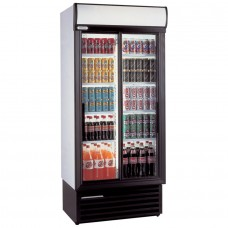 Staycold SD890: Sliding Glass Door Display Fridge - 675Ltr