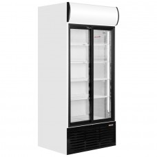 Caravell CBC603: Glass Door Display Fridge 778 ltr.