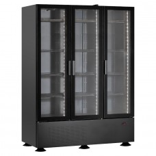 Tefcold FS1600H: 1208Ltr Hinged Triple Glass Door Display Fridge