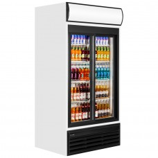Tefcold FSC1000S: Sliding Glass Door Display Fridge 771 ltr.