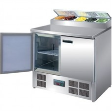 Polar G604: Two Door Refrigerated Sandwich / Pizza Preparation Counter