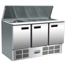 Polar G607: Gastronorm Food Preparation Counter with Refrigerated Understorage