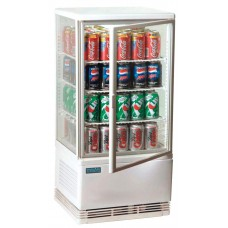 Polar G619: 68Ltr Chilled Countertop Display Cabinet - White